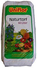 Uniflor® Gärtnertorf 60 Liter Torf Gärtnerqualität Pflanzen-Erde Blumenerde