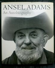 Ansel Adams An Autobiography (First) 1st Edition 1985 HC/DJ *With Original Card*