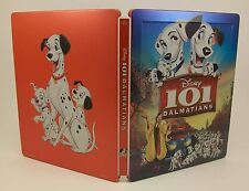 STEELBOOK Disney 101 Dalmatians Light Used Blu-Ray Region All