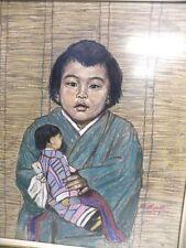 Künstlerische Malereien der 1950-1999er Pastell