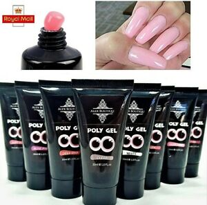30ml Polygel Quick Extension Nail UV Building Poly Hard Gel Builder Gel UK