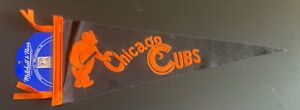 Chicago Cubs Mitchell & Ness Baseball Pennant