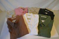 Orvis Mens Long/Short Sleeve Front Button Shirt 2 size L 5 Size XL