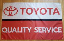 New listing Toyota Service Flag Automotive Shop Garage Man Cave Banner 5X3Ft