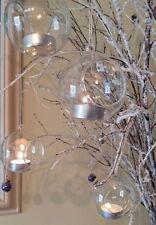 Christmas Bauble Candle & Tea Light Holders