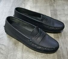 Tod's Black Driving Moccasins Women's size 5.5 us