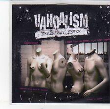 (EH159) Vandalism, Never Say Never - DJ CD