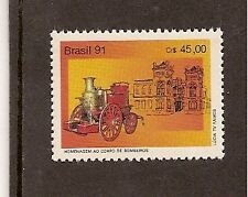 BRAZIL 1991 Ancient FIRE ENGINE 1v  MNH