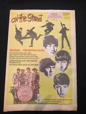 On The Street Magazine SYD - 20th May 1987 - Beatles Cover - Rare !!!!!!!