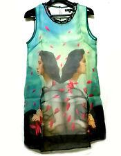 Mirror Printed A-line  Dress