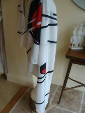 LIBERTY ,  VERY LARGE ,silk scarf. New .Made in ITALY