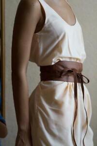 """New VIKTOR SABO Handmade Obi KAFETA Lambskin For Waistline Up To 36""""/91.4 cm XL+"""