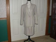 Spiegel Women's wool-blend suit - Blazer  Size 6P Skirt Size 8P