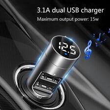 Baseus KFZ Bluetooth 5.0 FM Transmitter Auto AUX MP3 Player Ladegerät  Berühren