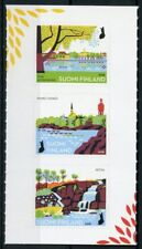 Finland 2018 MNH National Urban Parks II 3v S/A Set Trees Nature Stamps