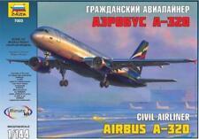 Zvezda 7003 Civil Airliner Airbus A-320 1/144