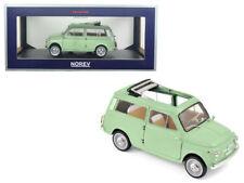 NOREV 1/18 1962 Fiat 500 Giardiniera Diecast Model Car Light Green (187723)