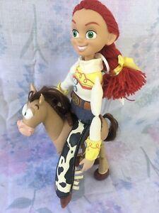 2001 Disney Pixar Hasbro Bullseye Horse & Signature Collection Jesse