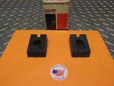 1953 TO 1960 FORD TRUCK REAR LOWER MOTOR MOUNT SET OF 2 NEW USA COTT-6A061-B