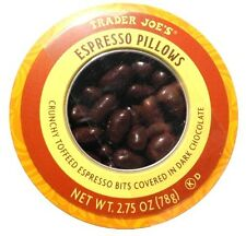 Trader Joe's Espresso Pillows Dark Chocolate Toffee + Coffee Cocoa Butter 1-PACK
