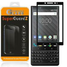 BlackBerry KEY2 SuperGuardZ FULL COVER Tempered Glass Screen Protector Guard