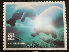 O) 1995 United States - Usa, Manatee - Sea Cows-Sirenia, Maximum Card