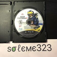 NCAA Football 14 PS3 Used Mint Condition