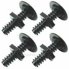 4 x CANNON Genuine Adjustable Oven Cooker Foot Black Screw Leg C00225564