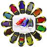 Easy Lazy No Tie Elastic Silicone Shoe Laces Shoelaces Unisex Adults Kids