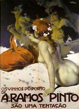 'A.Ramos Pinto quadro - Stampa d''arte su tela telaio in legno'