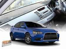 DASH MAT MITSUBISHI LANCER CJ ES VR VRX XLS RALLIART 10/2007-2017 DM1067 BLACK