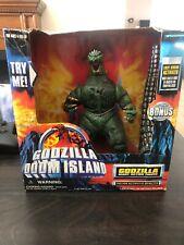 1997 Trendmasters Godzilla Doom Island 10 Inch Godzilla MIB Extremely Rare!