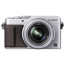 Panasonic Lumix DMC-LX100 12.8MP 4K Digital Camera 3.1x Optical Zoom WiFi Silver