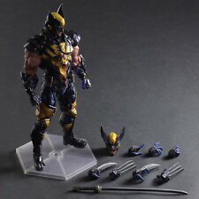 Play Arts Kai Wolverine Rogues Gallery Modle Action Figure Toy Doll Statue Cool
