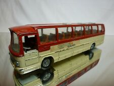 TEKNO HOLLAND MERCEDES BENZ O 302 BUS - ROOD + CREAM - L19.0cm - GOOD CONDITION
