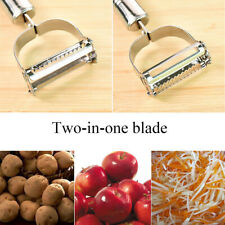 Stainless Steel Knife Grater Vegetable Cutter Kitchen Peeler Cooking Tools HOT