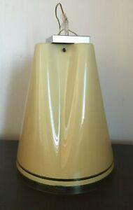 VINTAGE IGUZZINI DESIGN FAZZOLETTO LUIGI MASSONI CEILING SUSPENSION LAMP 1970s