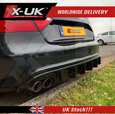 Audi A5 S-line / S5 2007-2012 coupe / convertible rear diffuser with left cover