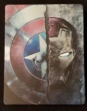 Captain America: Civil War (Blu-ray Disc, 3D SteelBook Collectible