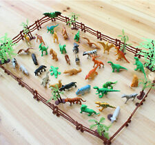 68x/set 3D Animal Model Toys for Simulation Zoo Classic Collection EW