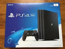 NEW Sony PlayStation 4 Pro 1TB Black Console PS4 System 1000gb 4K Gaming Bundle