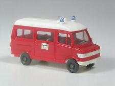 CLASSE: Wiking modello pubblicitari Mercedes 207 D Bus Vigili del Fuoco