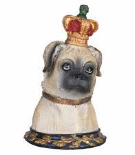 Mopsfigur Schmuckkästchen Deckeldose Hund Hundefigur Dekohund Mops Bulldogge