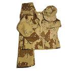 Vintage Trooper Desert Camo Kids Uniform Costume Jacket Pants Hat Sz 12