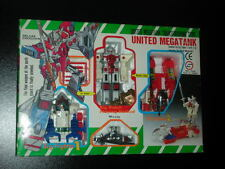 Vintage 80's Transformers United MegaTank made in Taiwan figure MIB ref:61