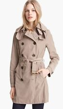 New Burberry Brit 2017 Authentic 'Balmoral' Packable Trench Nwt Sisal