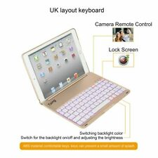 For Ipad Air2 Game Keyboard With Case Backlit Bluetooth Keypad Free US Shipping!