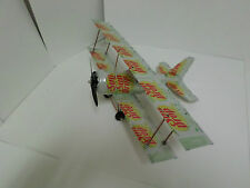 Aluminum soda can handcrafted airplane/DIET SUNDROP(BI-PLANE)