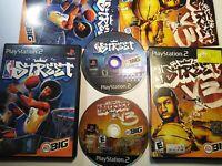 NBA Street Volume 3 V3 + Basketball 1 PlayStation 2 PS2 Complete CIB Good Cond.