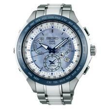 Seiko SSE039 Astron GPS Solar para Hombre Cronógrafo Reloj de titanio de cerámica de dos tonos